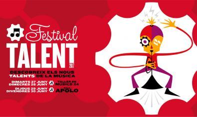 Cartell que anuncia el festival