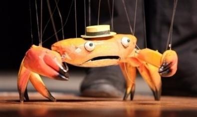 El títere del cangrejo