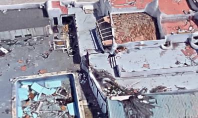 Una imagen de Google Maps del lugar donde estaba la discoteca valenciana The Face