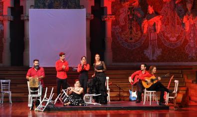 Fotografía del concierto en el Palau de la Música