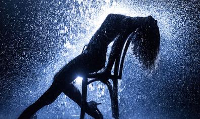 Imatge del cartell de 'Flashdance, el musical'