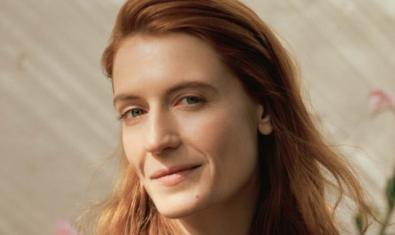 La cantante Florence Welch
