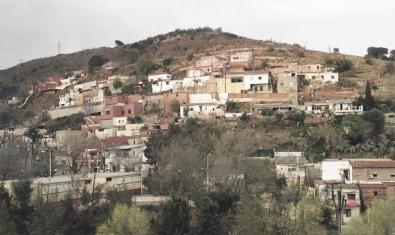 Una imatge general d'aquest barri d'Horta Guinardó