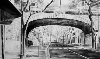 Obra d'Yves Bélorgey presente en la muestra de la Virreina Centre de la Imatge