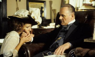 Emma Thompson i Anthony Hopkins a 'Howards End'