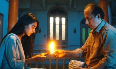 Fotograma de la película 'El viaje de Nisha'