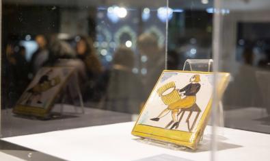 'Azulejos y oficios' se podrá visitar hasta el 13 de setiembre. Fotografía: Meseret Martínez
