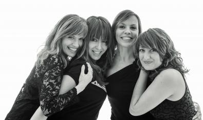 Les quatre protagonistes de 'Les dones de Frank'
