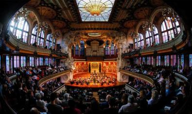 El Palau Virtual ofrece un archivo de grabaciones de conciertos, conferencias y mucho más