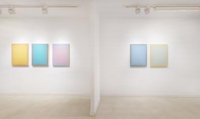 """Els olis i acrílics de la mostra """"Breathing space"""""""