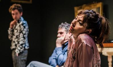 Carla Ricart, Ignasi Guasch y Xavier Pàmies en 'Vernissatge'