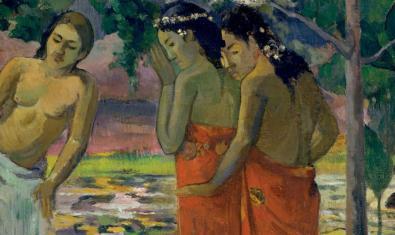 Tres dones tahitianes (1896), de Gian Paul Gauguin