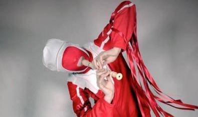Gazelle Twin en una imagen promocional de 'Pastoral'