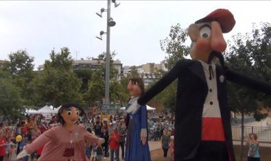 Gegants de Sant Medir a La Bordeta