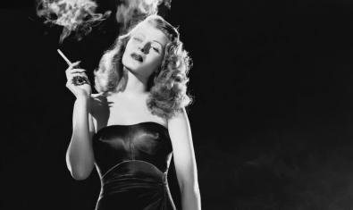 Rita Hayworth en su recordado papel en 'Gilda'