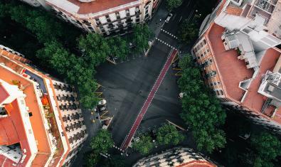 Imatge d'un xamfrà de Barcelona