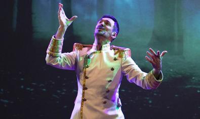 Gramaje en un dels moments del musical 'Al sud del Paral·lel'