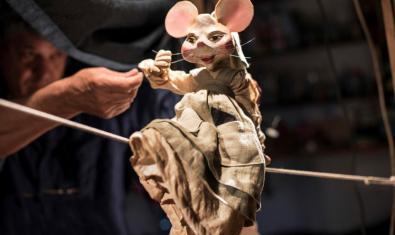 El títere de la ratita