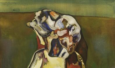Una de les obres de Guerrero Medina presents a l'exposició