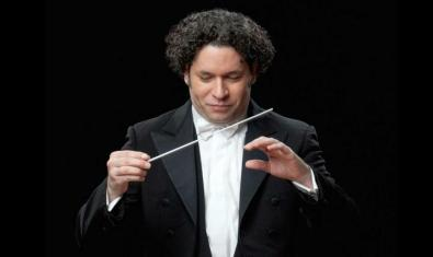 The conductor Gustavo Dudamel