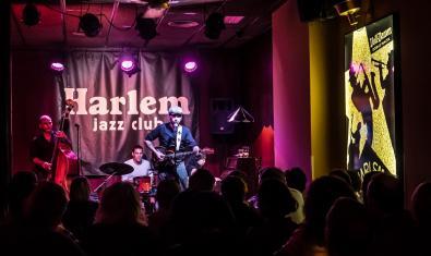 Chino Swingslide en el Harlem Jazz Club