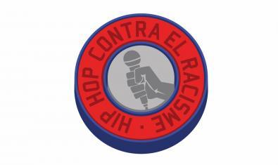 Una mà amb un micro al logo que identifica aquest concurs de hip hop