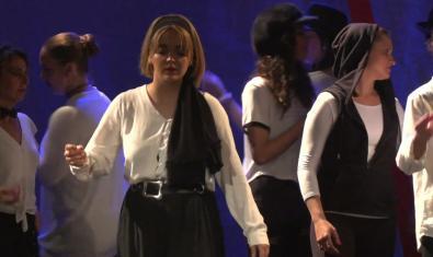 Una escena de l'espectacle 'Homes', a càrrec de La Bambolina Negra