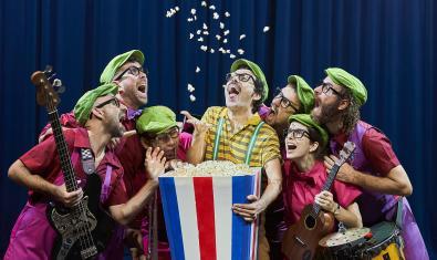Imatge de l'espectacle de Guillem Albà al Teatre Victòria