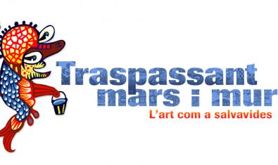 Imatge gràfica de l'exposició Traspassant mars i murs