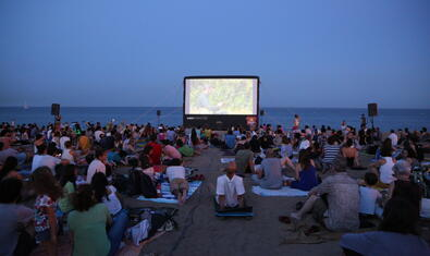 Free Cinema on the Beach