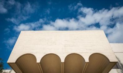 Fotografia de l'edifici de la Fundació Joan Miró