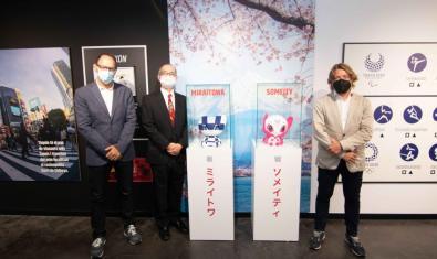 Exposición 'Tokio 2020. El deporte como herramienta para cambiar el mundo'