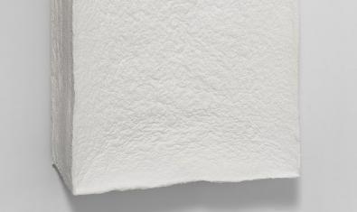 Detalle de una de las obras expuestas en la muestra Incierto Equilibrio