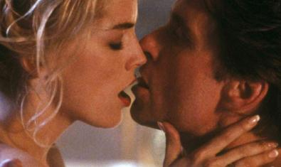 Sharon Stone and Michael Douglas in 'Basic Instinct'