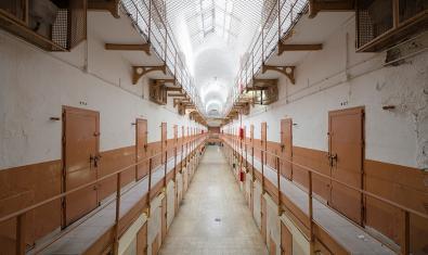 Interior de la presó Model