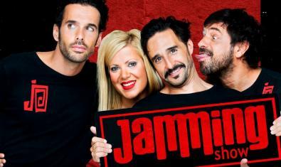 L'actriu i els actors de 'Jamming'