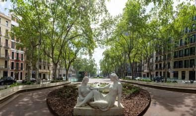Los Jardinets de Gràcia es uno de los lugares a visitar propuestos por la Fundació Mercè Rodoreda