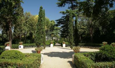 Imatge dels jardins de Laribal