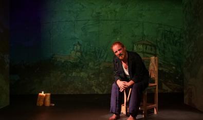 Jaume Garcia Arija a 'Van Gogh', de Maria Clausó i Ever Blanchet