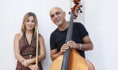 Joan Chamorro y Rita Payés