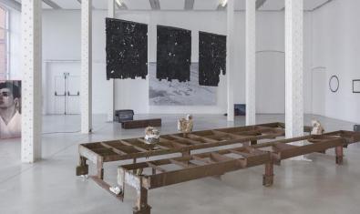 Un aspecte de l'exposició que podeu veure presencialment a Fabra i Coats