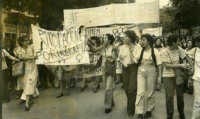 Presentació del web de les Primeres Jornades Catalanes de la Dona
