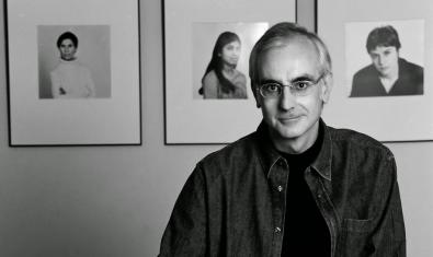Josep Aznar al seu estudi
