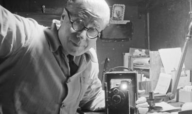 Josep Coté y su cámara