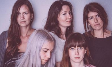 Las integrantes de esta banda femenina de Barcelona
