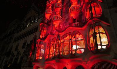 celebración del Año Nuevo Chino en la Casa Batlló