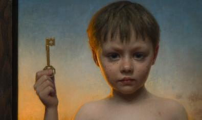 Imatge parcial de 'La clau', de Conor Walton, obra guanyadora del concurs