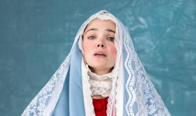 L'actriu Ana Rujas en una de les imatges promocionals de l'obra