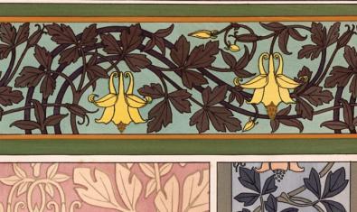 Detall del llibre 'La plante et ses applications ornementales', d'Eugène Grasset