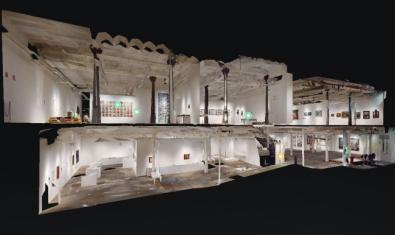 Podéis visitar las exposiciones temporales del Museo Can Framis y los Espais Volart en línea